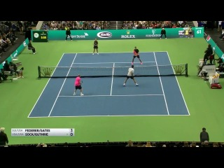 Roger Federer playing on his knees | Match for Africa 2018 |