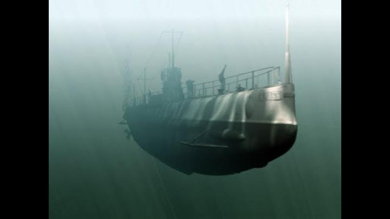 Подводный минзаг Краб The world's first submarine minelayer Crab 1912