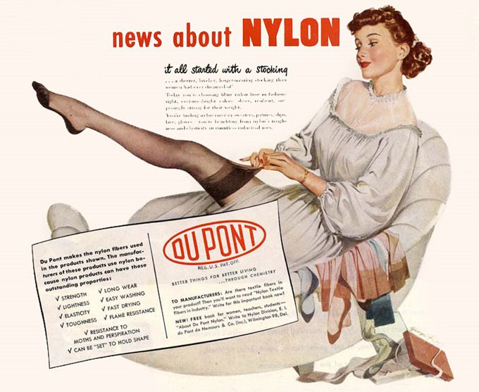 "Картинки по запросу ""1935 - Уоллес Каротерс изобрел нейлон."""