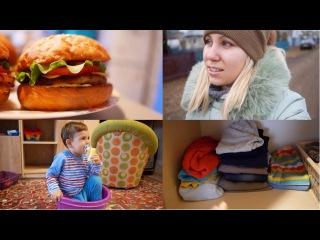 Расхламляем шкаф [Vlog] Делаем БУРГЕРЫ по рецепту OBLOMOFF- Lesya Life