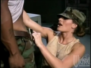 [PornMe] - NIGGA FUCK SOLDIER GIRL (ALLSEX/INTERRACIAL/BLOWJOB/CUMSHOT/ANAL/TEEN/BIG TITS/BOOBS/BB/PAWG/ASS/СЕКС В АРМИИ)