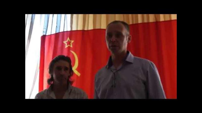 Виктор и Любовь Алещановы 1ч Встреча ПРАВсоюза Кавказ и СССР Краснодарского