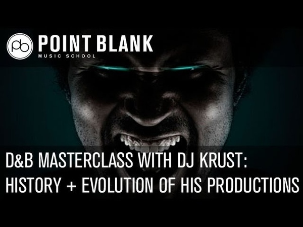 DJ Krust DB Masterclass - History of the Scene / Evolution of his Production Techniques