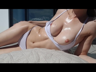 Missalice_94 - oiled up sunbathing and flashing | miss alice - мисс алиса