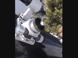 Почему нельзя смотреть на солнце в телескоп