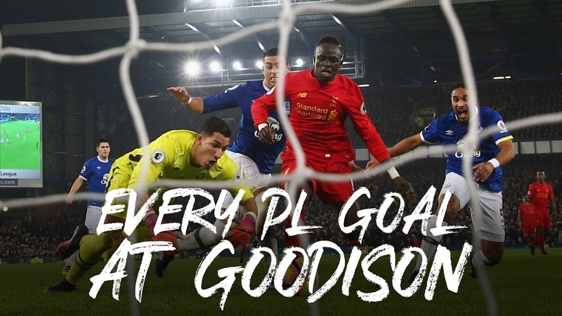 Every Premier League goal at Goodison Late winners Stevie's screamers and Gary Mac
