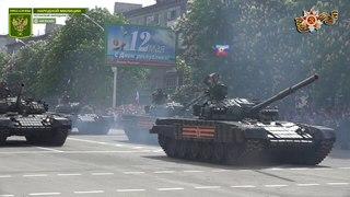"""Полная версия """"Парада Победы"""" в городе Луганске 9 мая 2018"""