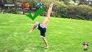 Come fare il salto mortale all'indietro seminario di ginnastica artistica backflip tutorial