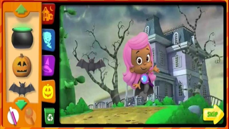 Гуппи и пузырики Хеллуин игра онлайн часть 1