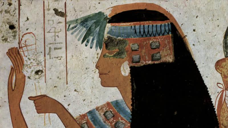 Сокровища Древнего Египта (1) Рождение искусства (2014) Алистер Сук (док. сериал, история искусства, BBC) HD 720