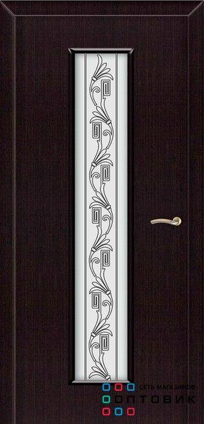 Межкомнатная дверь ВЬЮН венге