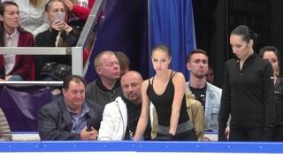 Alina Zagitova  Open Skating FS WU Carmen A