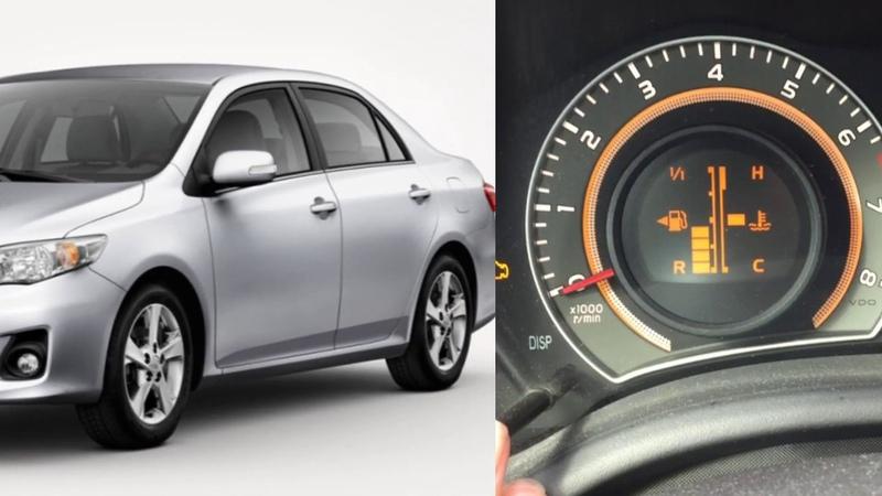 Замена топливного фильтра Toyota Corolla Е150