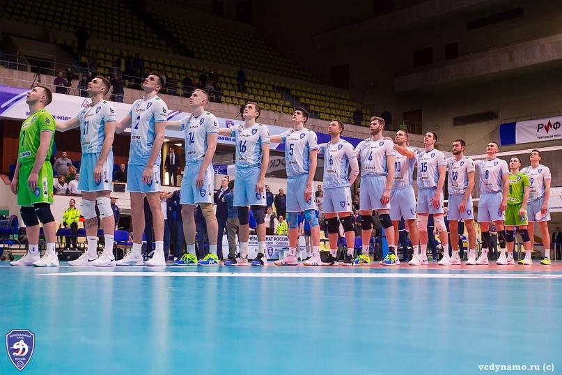 Столичные волейболисты одержали победу в матче 24-го тура Чемпионата страны