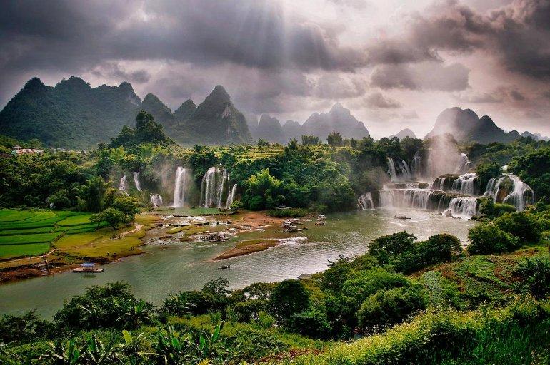 Водопад Дэтянь - Азиатское Чудо Природы, изображение №4