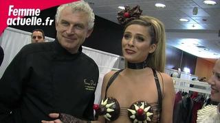 Salon du chocolat : l'interview de Clara Morgane