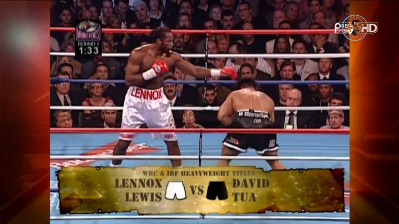 Lennox Lewis vs David Tua (Highlights) [2000-11-11]