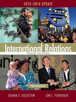 Joshua S. Goldstein] International Relations TENT