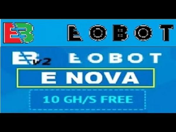 【EOBOT v2】☛Nova mineradora de criptomoeda similar a eobot | Bonus de 10 ghs no cadastro