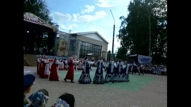 ЗАВАЛИНКА 2018: коллективы Сыктывдина зажигают в хороводе!