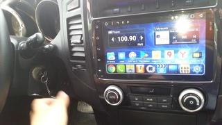т.8(904)-606-28-05 Магнитола для Mitsubishi Pagero 4 (Android)