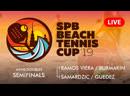 MENS DOUBLES SEMIFINALS RAMOS VIERA BURMAKIN vs SAMARDZIC GUEDEZ SPB BEACH TENNIS CUP 2019