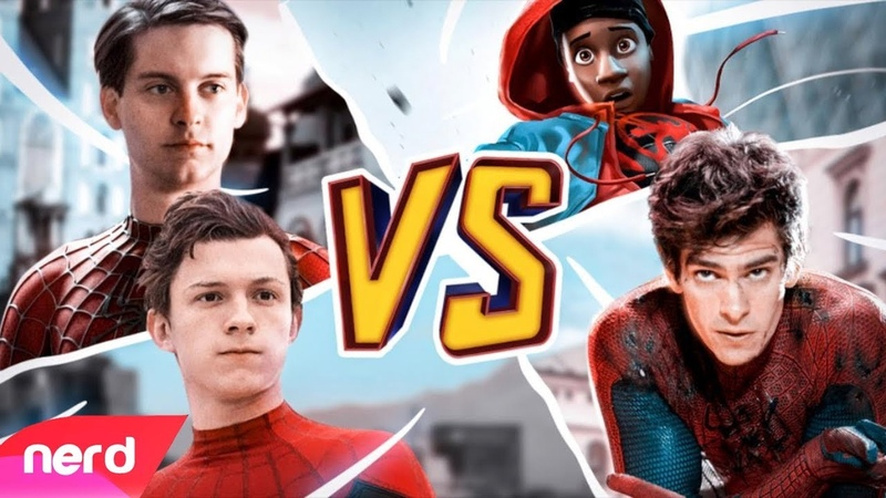 The Spider-Man Rap Battle | by NerdOut ft. Fabvl, Zach Boucher, Dreaded Yasuke