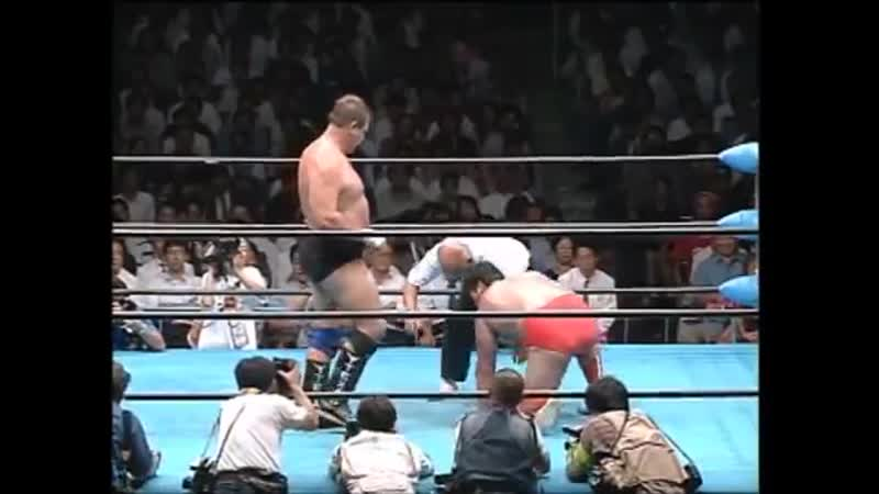 Kenta Kobashi vs Stan Hansen (September 5, 1996)