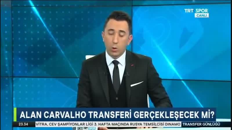 Galatasaray Transfer Gündemi ¦ Alan Pato Tetteh Transfer Detayları ¦ Trtspor 23 Ocak