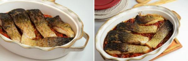Запеченная рыба с овощами, изображение №6