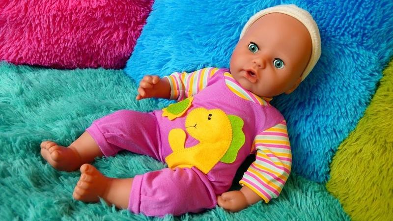 Vídeo de juguetes infantiles Vamos de compras con Baby Born Juegos para niñas pequeñas