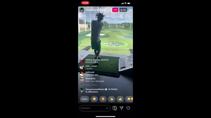 Robby Anderson, better receiver than golfer Jets