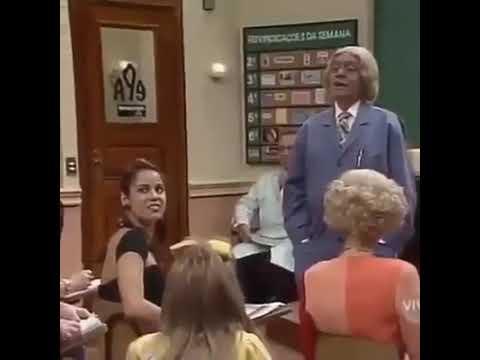 Bolsonaro na escolinha do prof Raimundo