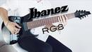 Ibanez RG8    Tone Test