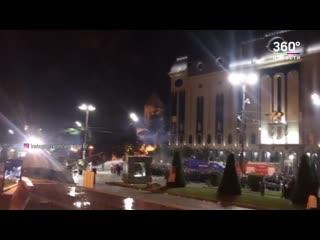 Митингующие в Тбилиси разгромили офис правящей партии