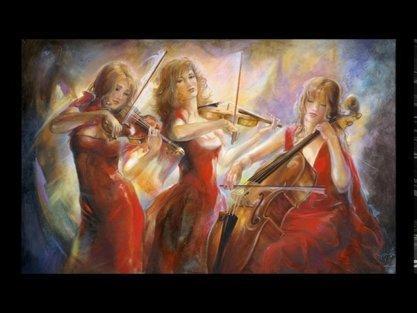 Frolov. Divertimento for two violins