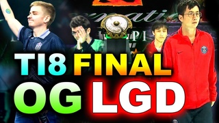 OG vs  - TI8 GRAND FINAL - BEST LEGENDARY!!!! - THE INTERNATIONAL 2018 DOTA 2