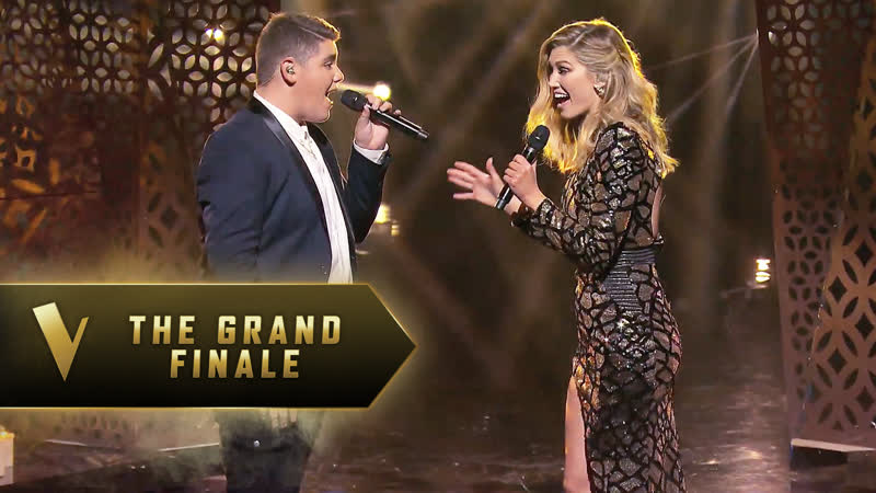 Delta Goodrem and Jordan Anthony Rabbone You Say The Voice Australia 2019
