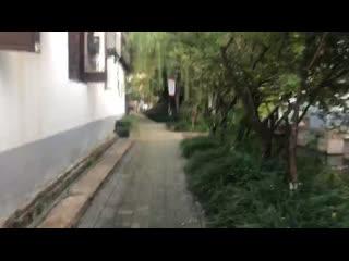 Walk in the most beautiful village in kunshan