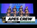Apes Crew ¦ 1st place Junior Div ¦ Winners Circle ¦ World of Dance Championships 2018 ¦ WODCHAMPS18