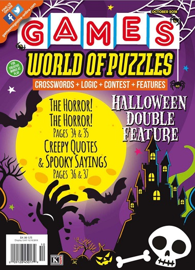 2018-10-01 Games World of Puzzles