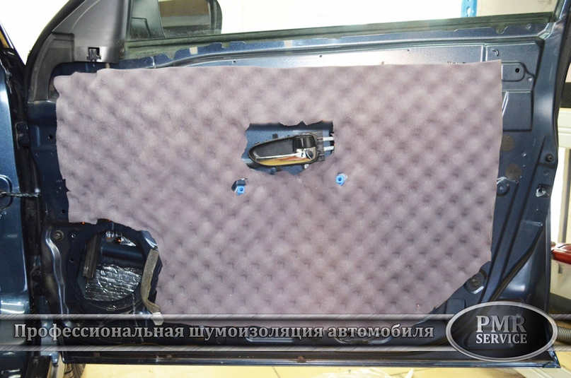 Шумоизоляция Nissan Almera, изображение №10