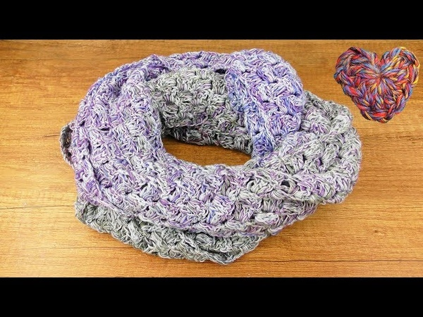 Sommer Tuch Häkeln Woolly Hugs Cotton C2C Anleitung Schnell einfach Häkeln