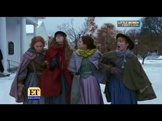 Emma Watson, Meryl Streep in First Look at Little Women Trailer (ET Exclusive)