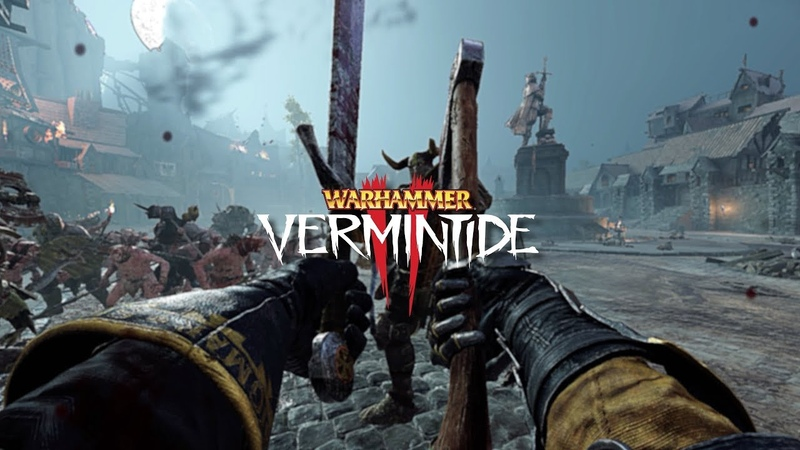 Legend True Solo Witch Hunter Captain Axe and Falcion Boss Patrol Killed  Vermintide 2