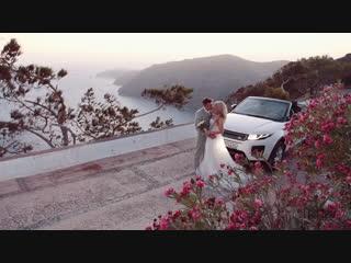Наша сказочная свадьба на Санторини