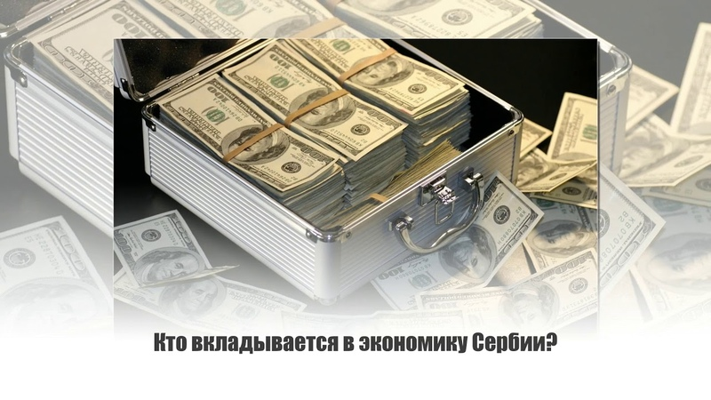 Инвестиции в Сербию: кто и сколько вложил в экономику Сербии