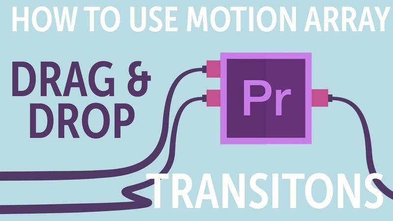 How To Use Motion Array Shifter Transitions for Premiere Pro смотреть онлайн без регистрации