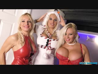 [SplatBukkake.com] Christmas party 2018 bukkake session [Sophie Anderson,Michelle Thorne,Tara Spades,Classy Filth, Facial]