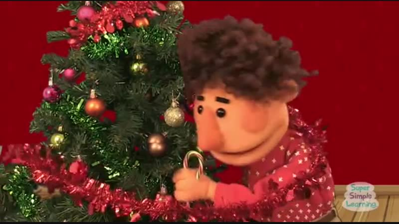Decorate The Christmas Tree to the tune of Deck The Halls Super Simple Songs 1